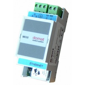 RS485 / Ethernet converter, Modbus router