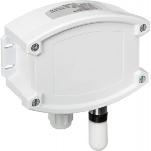 On-wall humidity and temperature sensor, high-precision