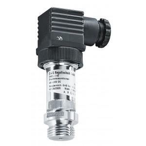 Pressure sensor for liquid and fluid media