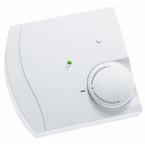 Room temperature sensor, button, setpoint, LED