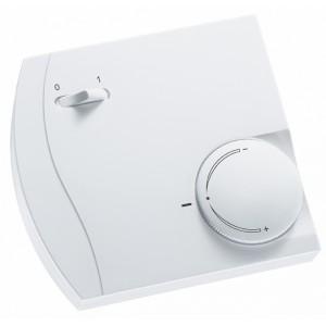 Room temperature sensor, setpoint, switch