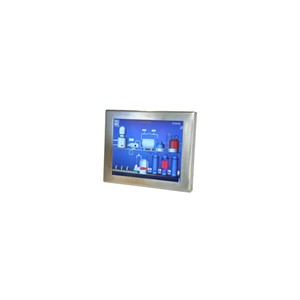 "LCD display 17"", steel frame"
